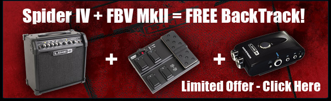 Spider IV + FBV MKII = Free Backtrack